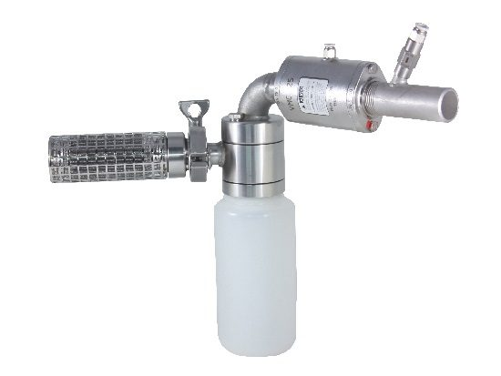 Pneumatic version with bottle